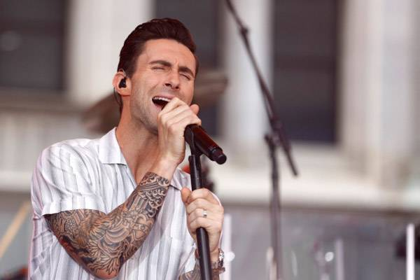Adam Levine unveiled new tattoo