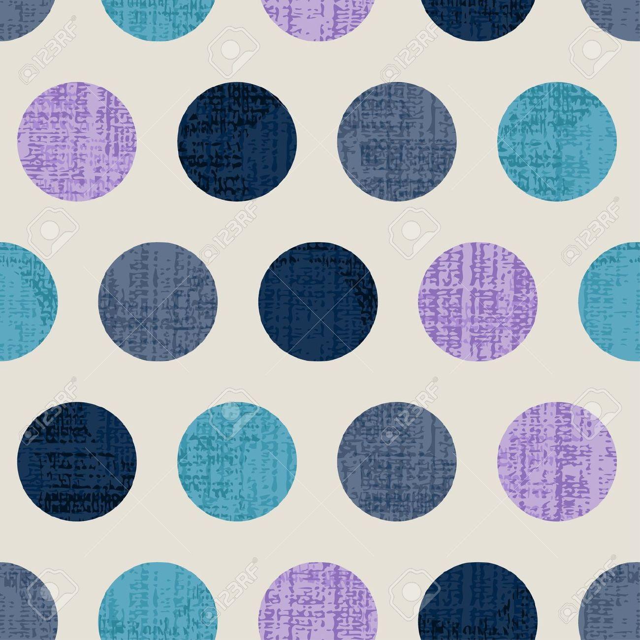 grungy dots pattern