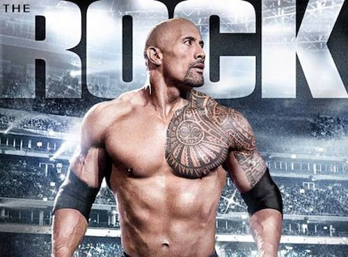 Dwayne Johnson, The Rock tattoo design