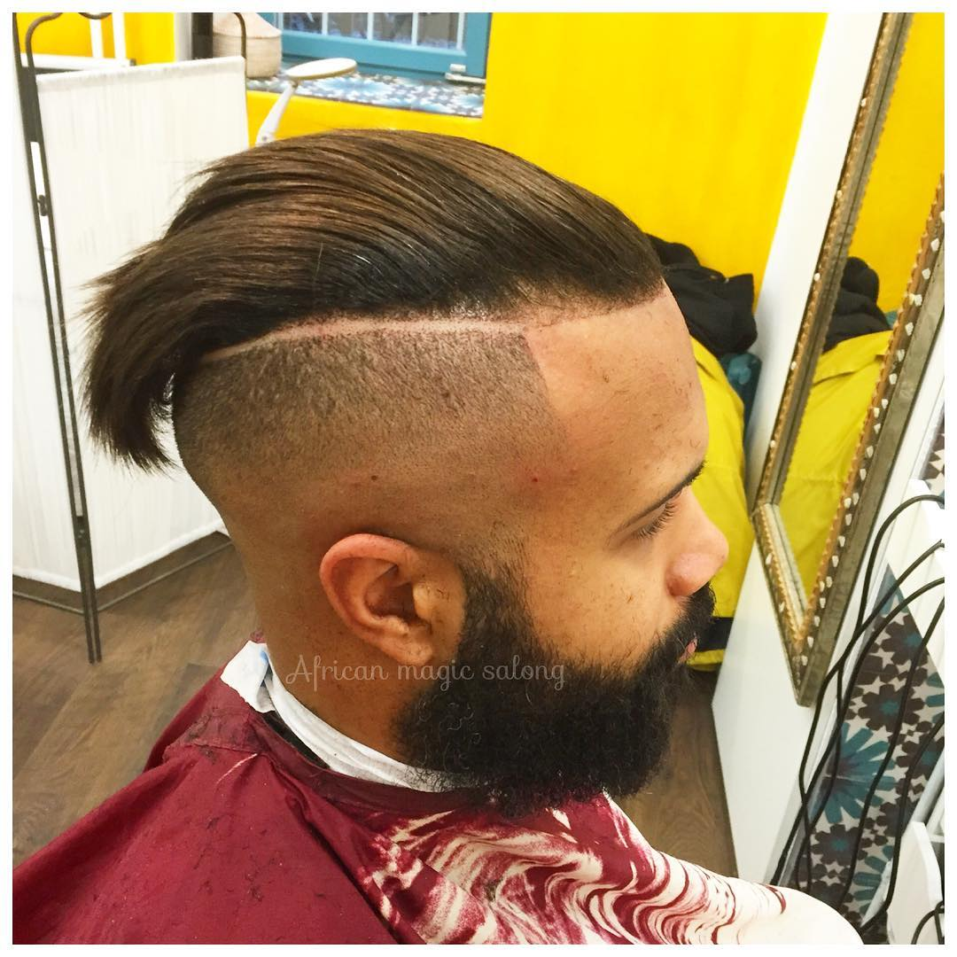 modern tapper fade haircut