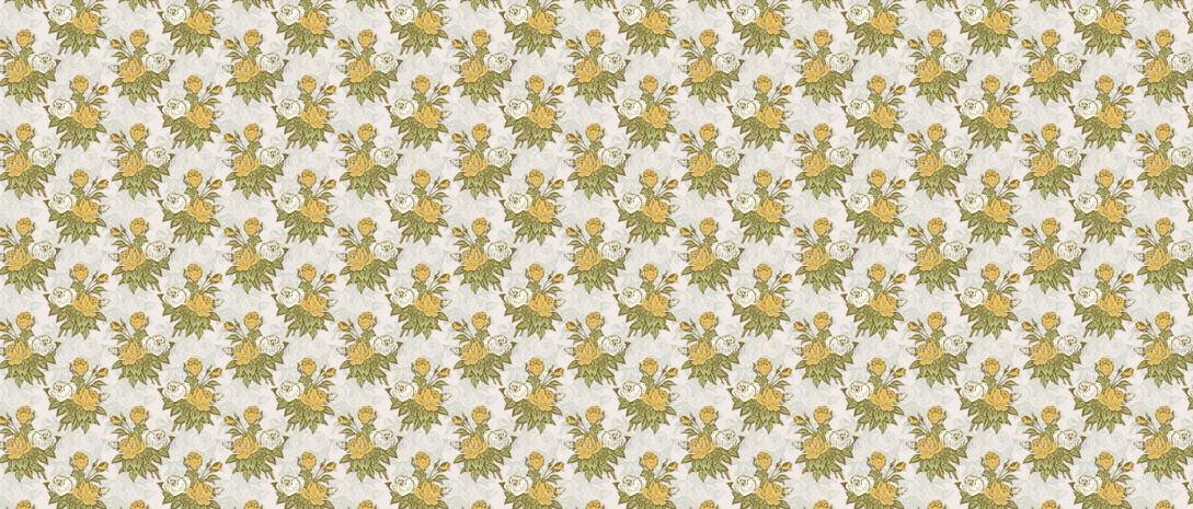 Retro Flower Pattern Design