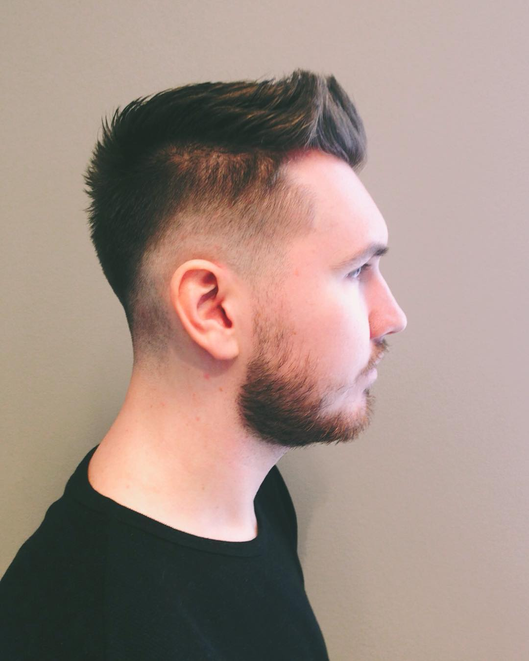 beautiful tapper fade hairstyle