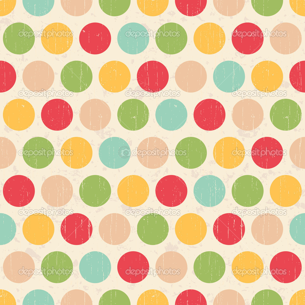 Grunge Circles Pattern