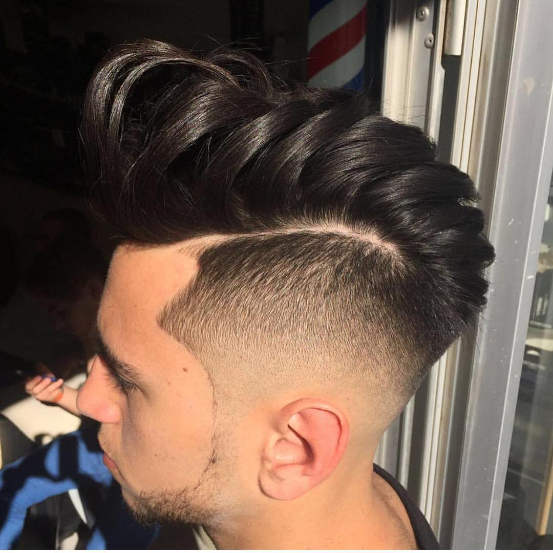 spectacular tapper fade hairstyle
