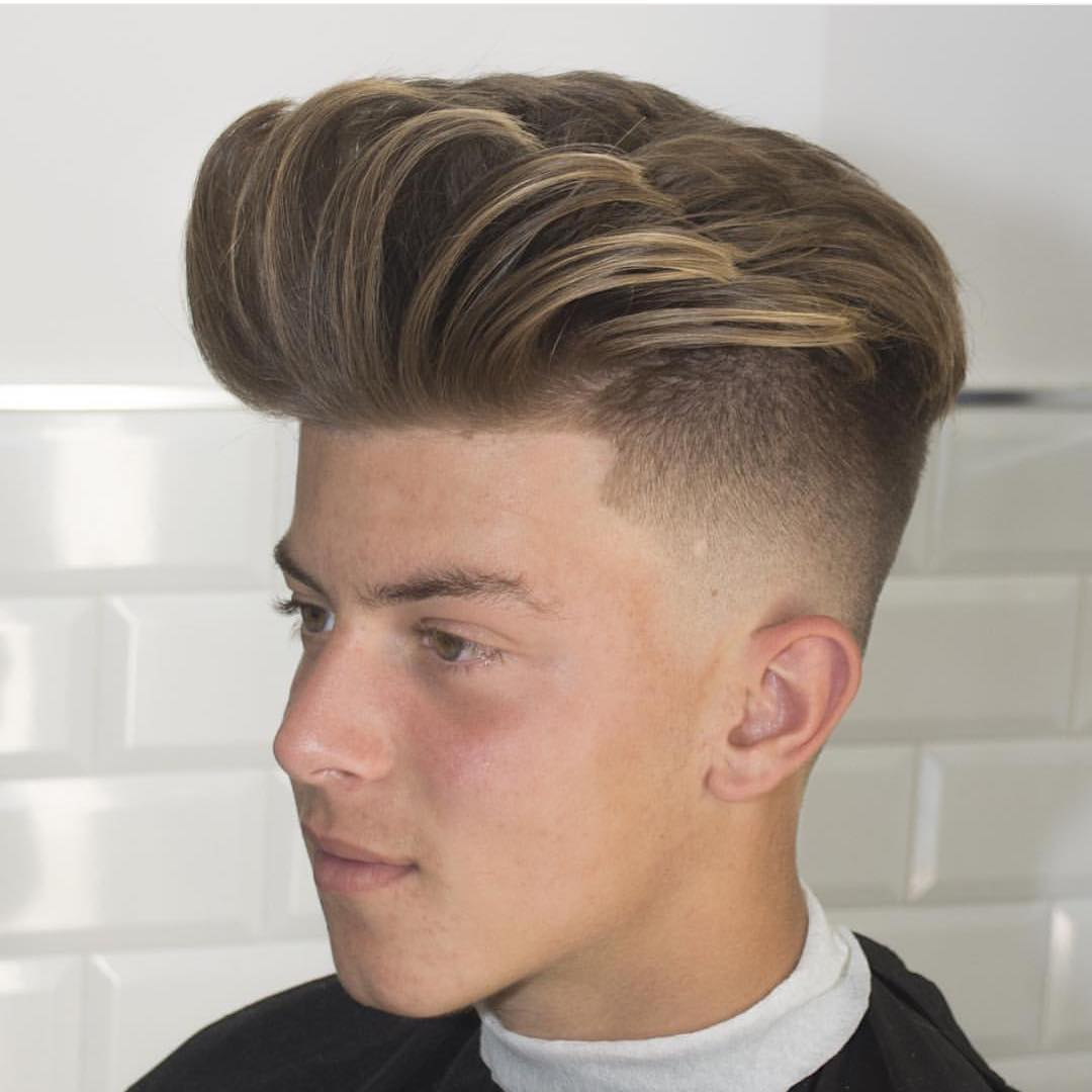 wondrous high fade haircut for guys