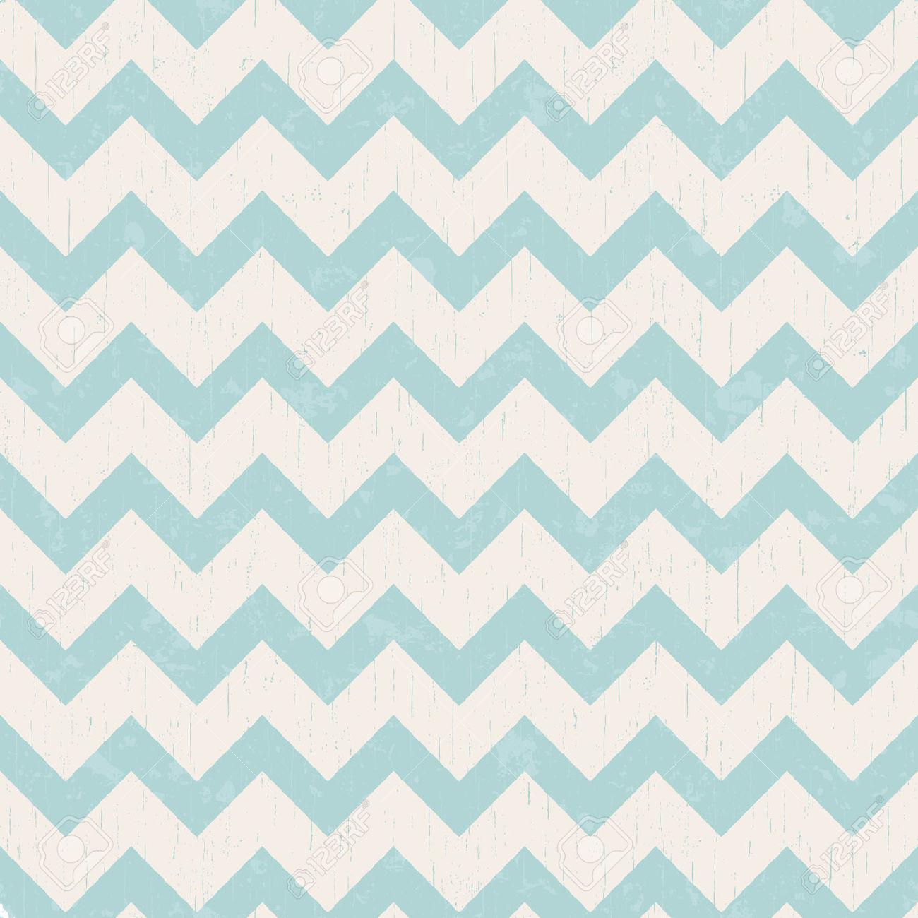 distressed zig zag pattern