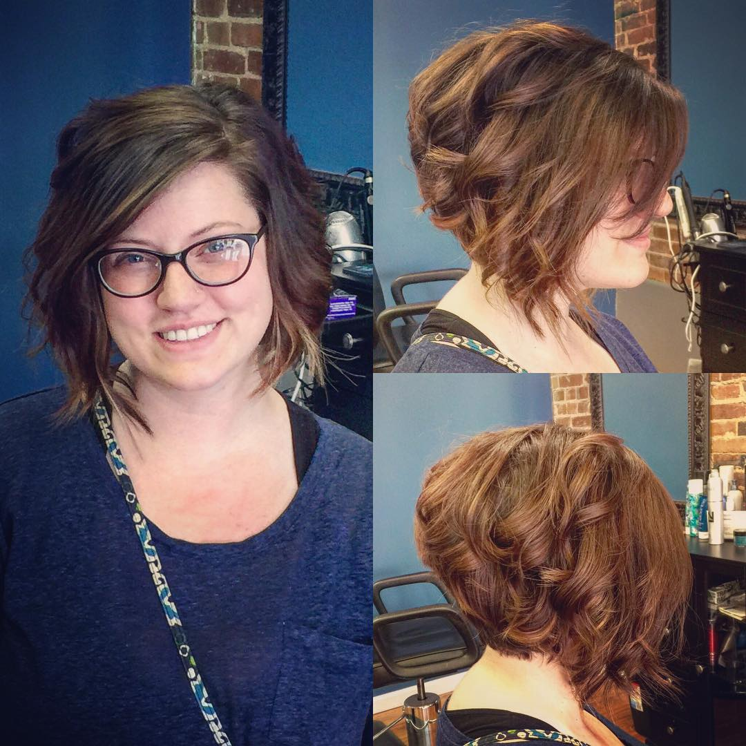 Curly And Stylish Haircut