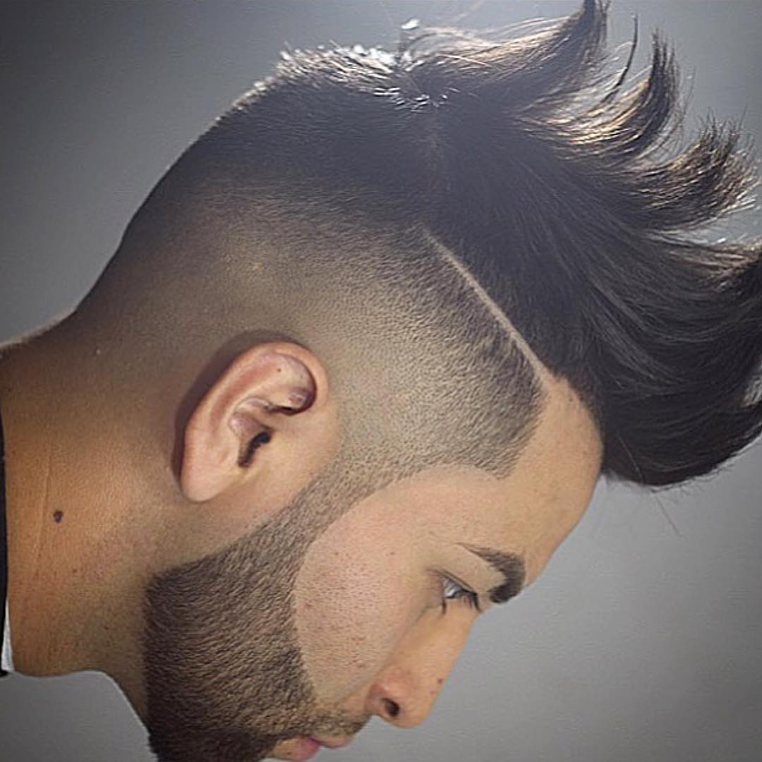 hair style lines mens hairstyles design lines fade haircut 6600