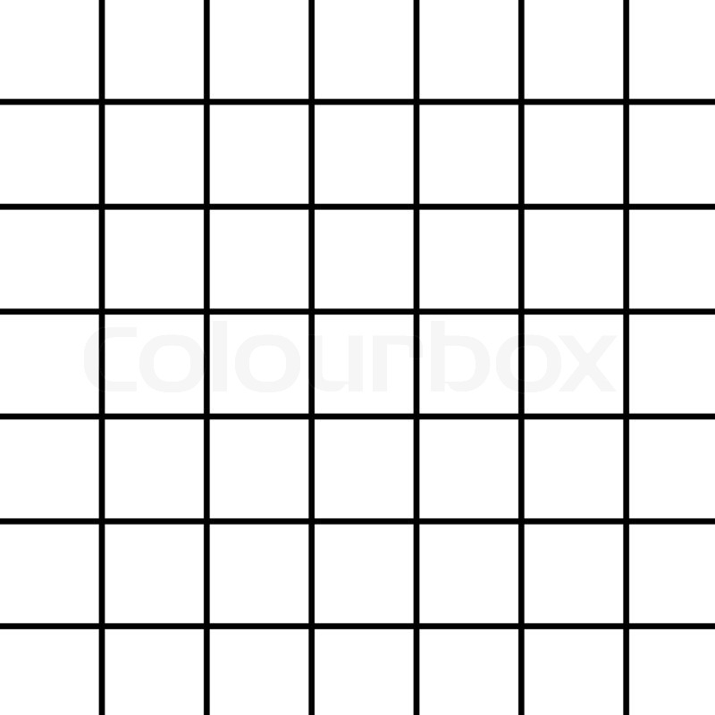 Black Grid Pattern