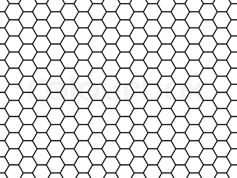 Honeycomb Grid Pattern