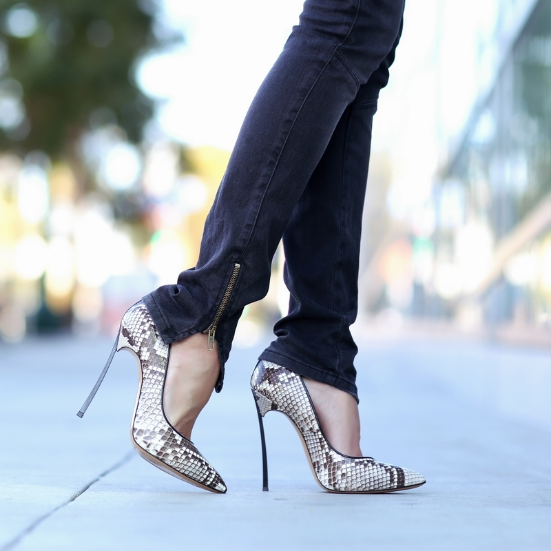 walk in high heels is to take shorter steps