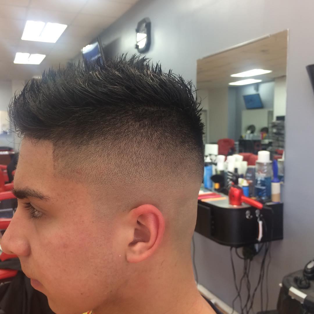 24 men fohawk haircut ideas designs hairstyles