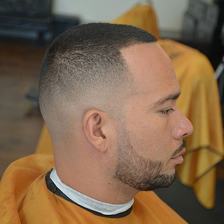 Very Short Fade Men Haircut Style