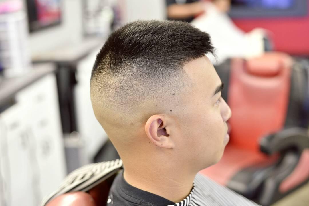 Creative Fohawk Short Haircut