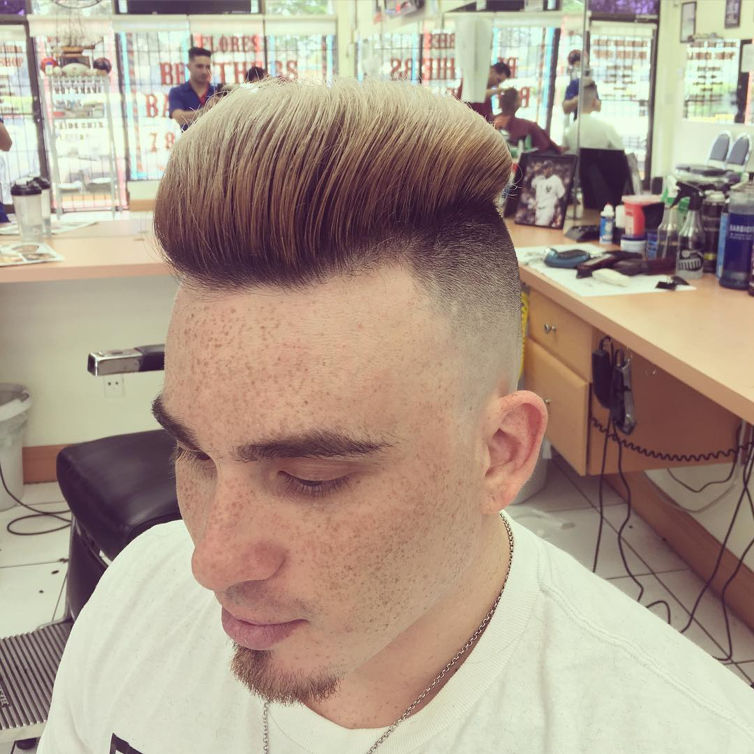 Dazzling Fohawk Hairstyle for Men