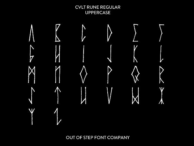 Viking Handstyle Font