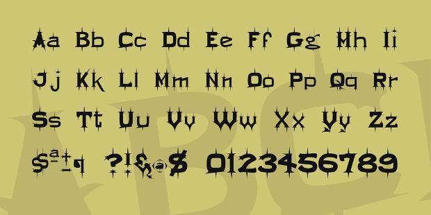 Bold Display Viking Font