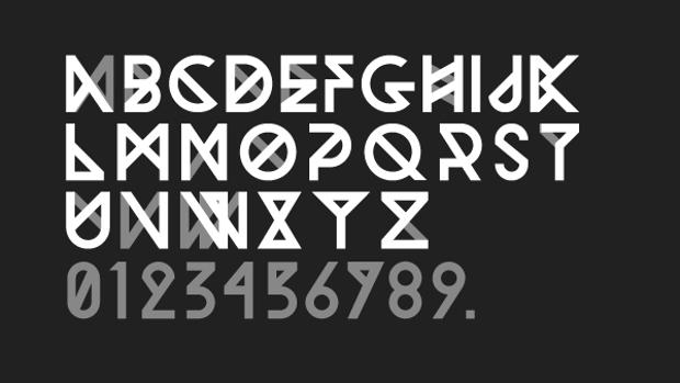 Geometric Viking Font