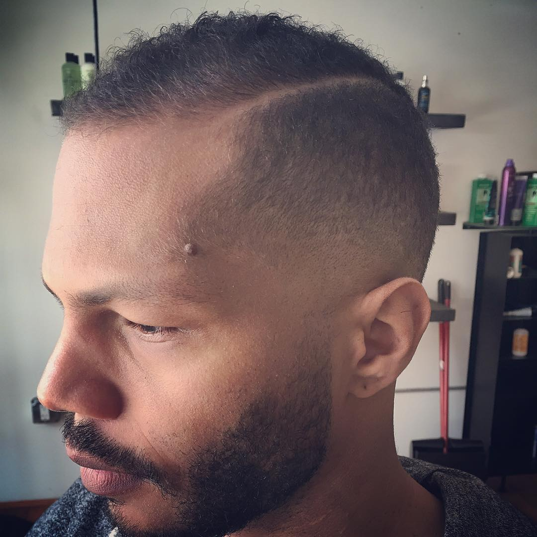 Low Tapered Fade Haircut Idea