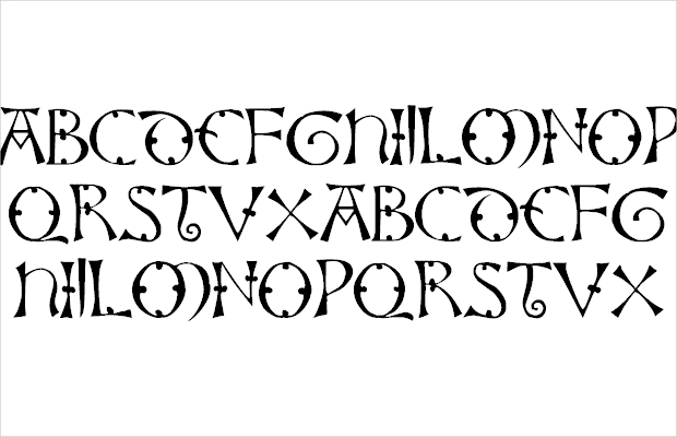 awesome viking font