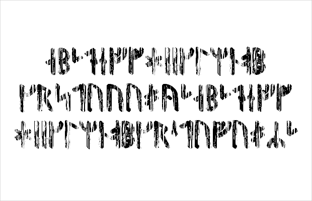 Old Viking Font Style