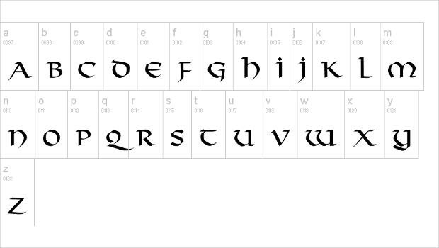 Web Design Viking Font