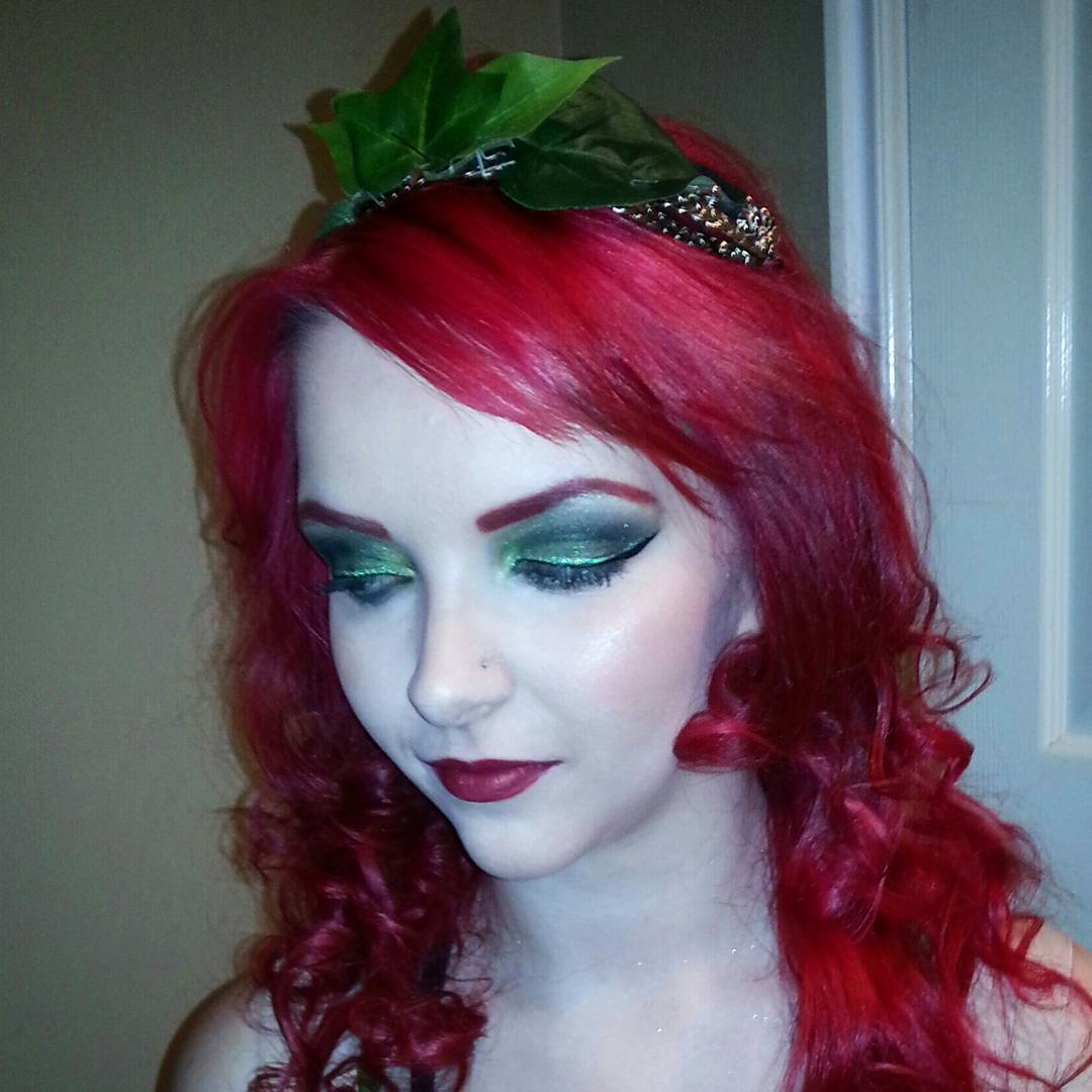Princes Poison Ivy Makeup Design