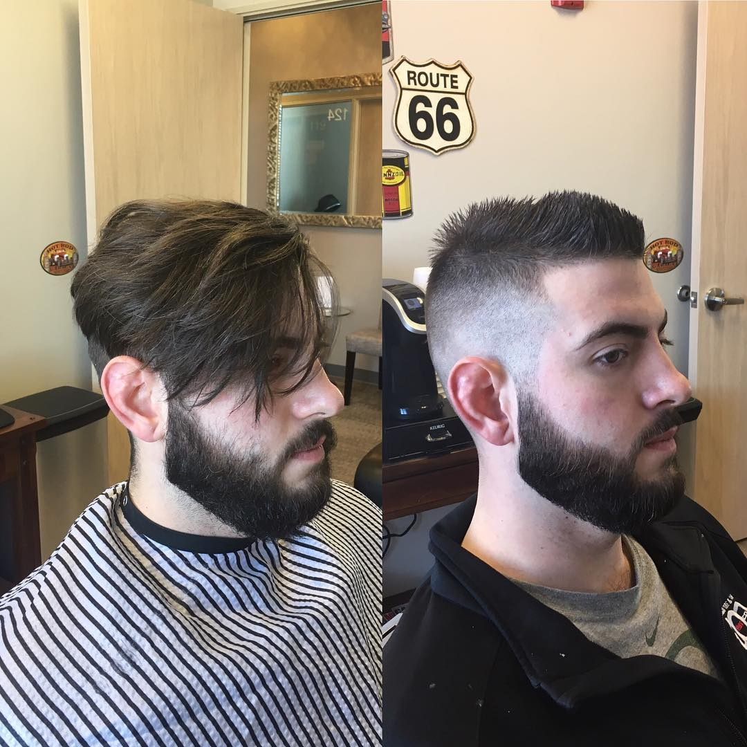 24+ Men Fohawk Haircut Ideas, Designs | Hairstyles ...