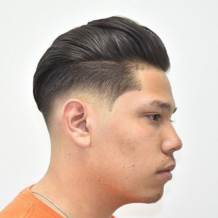 Floppy Fohawk Haircut Design