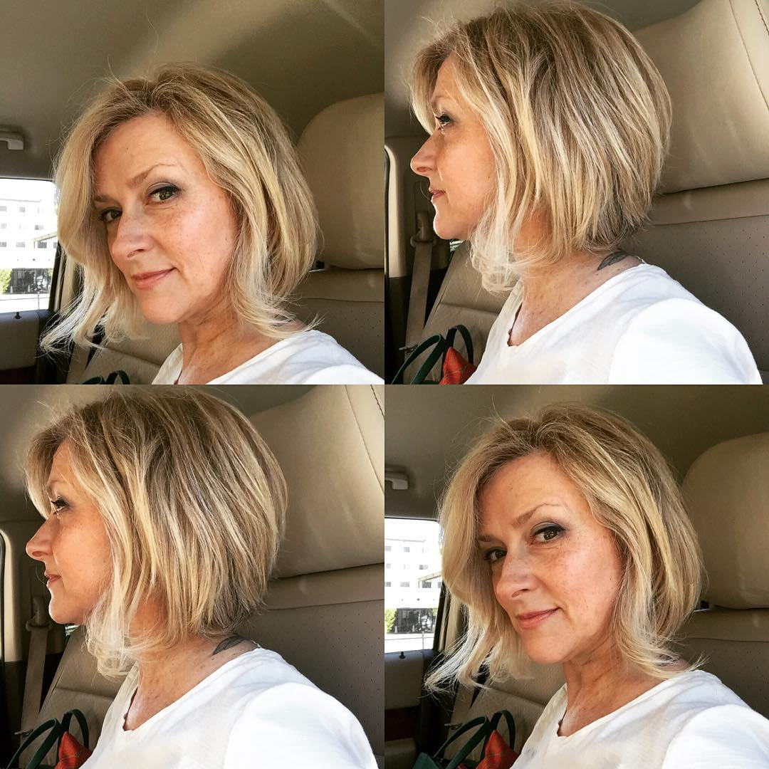 creative bob hairstyle design