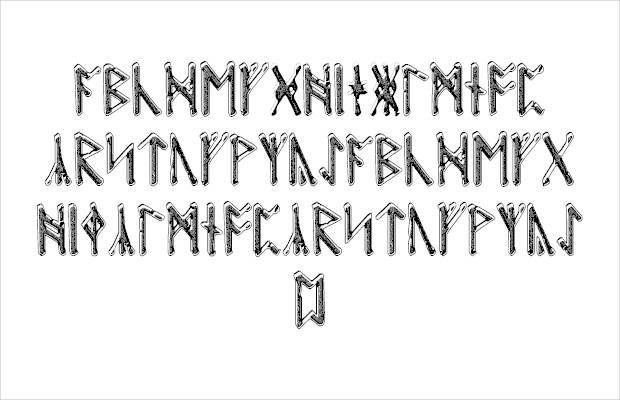 Viking Style Font for Use