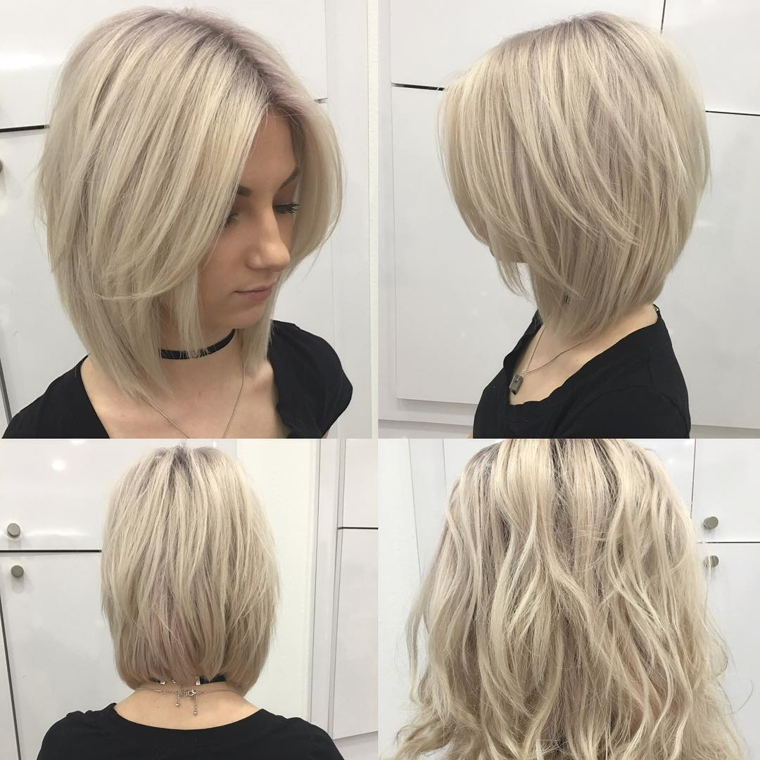 lovely short bob hairstyle idea
