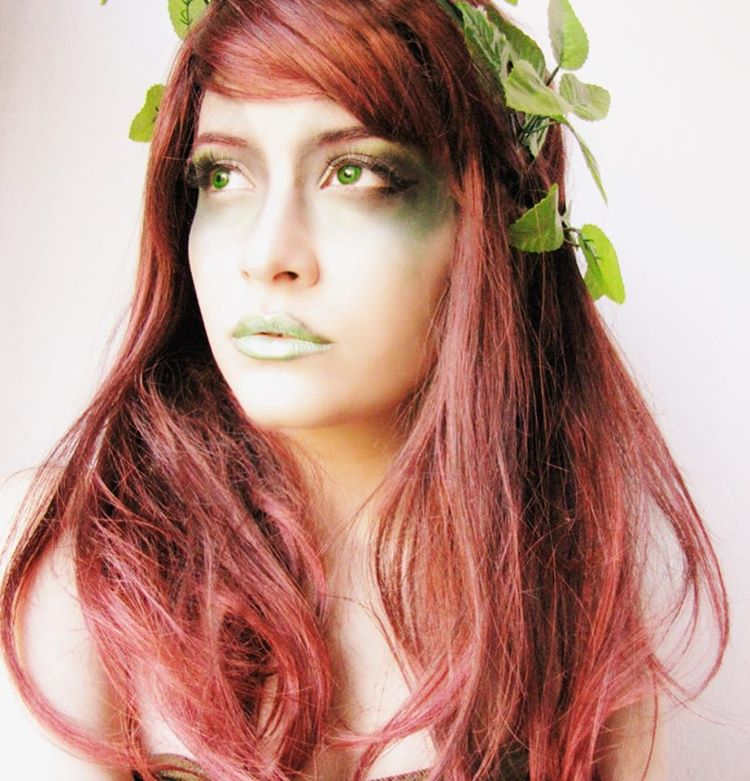 Latest Poison Ivy Makeup Design