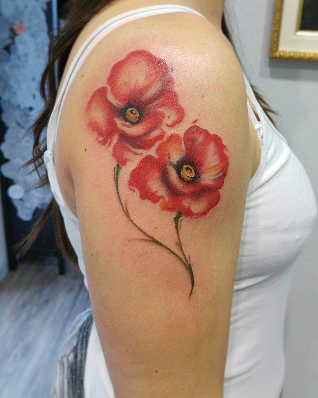 28+ Poppy Tattoos Designs, Ideas