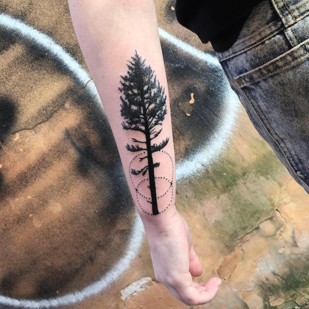 ... White Tattoo Designs , Ideas | Design Trends Simple Mountains Tattoo