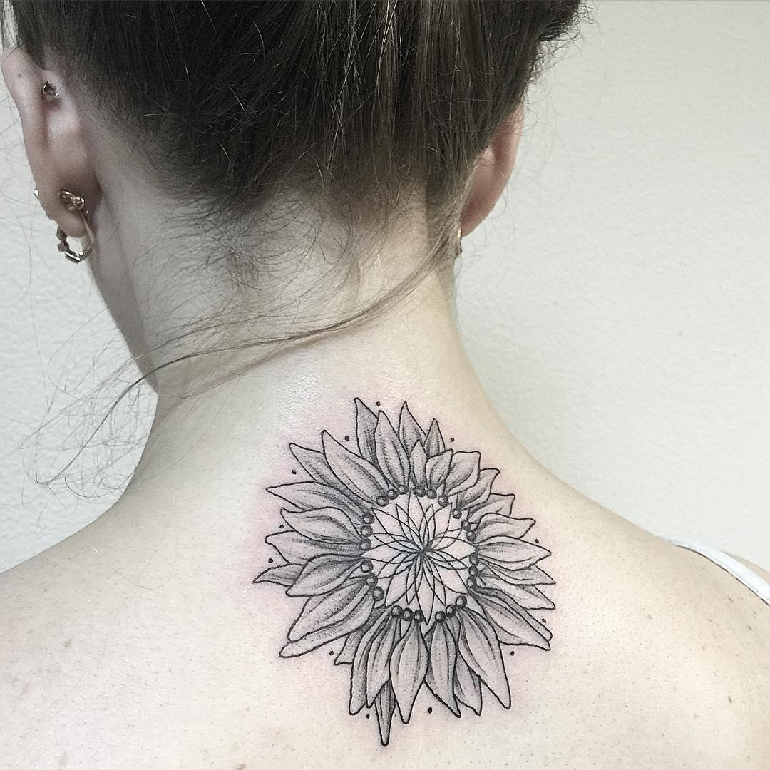 Black Lovely Tattoo Design
