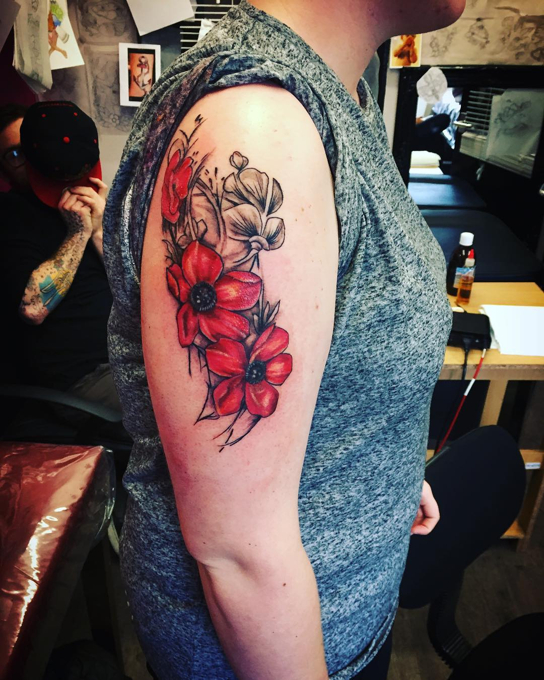 Remembrance Poppy Tattoos
