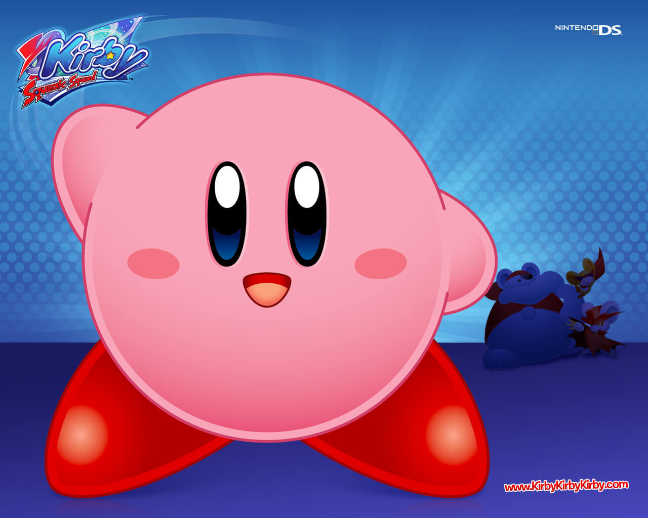 Awesome Kirby Background