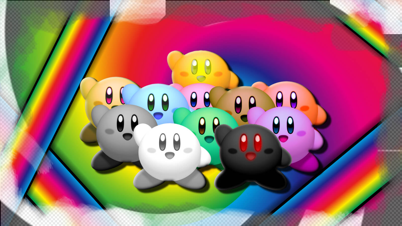 Colourful Kirby Wallpapers