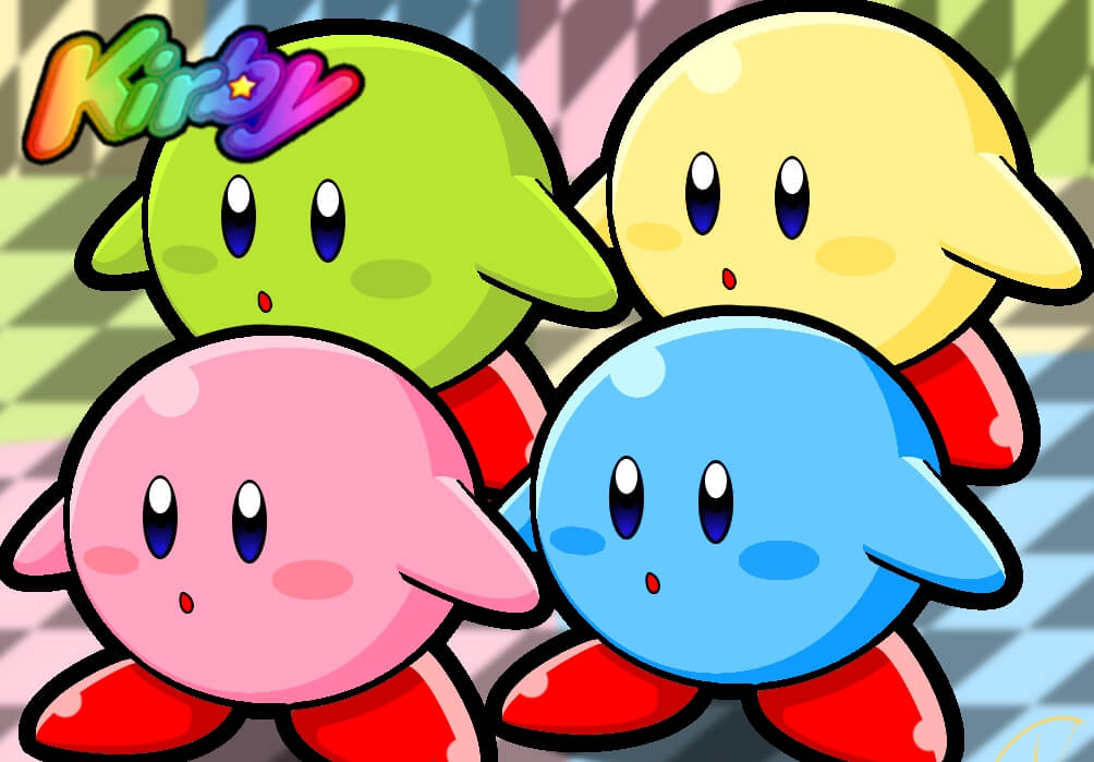 Small Kirby Free Wallpaper