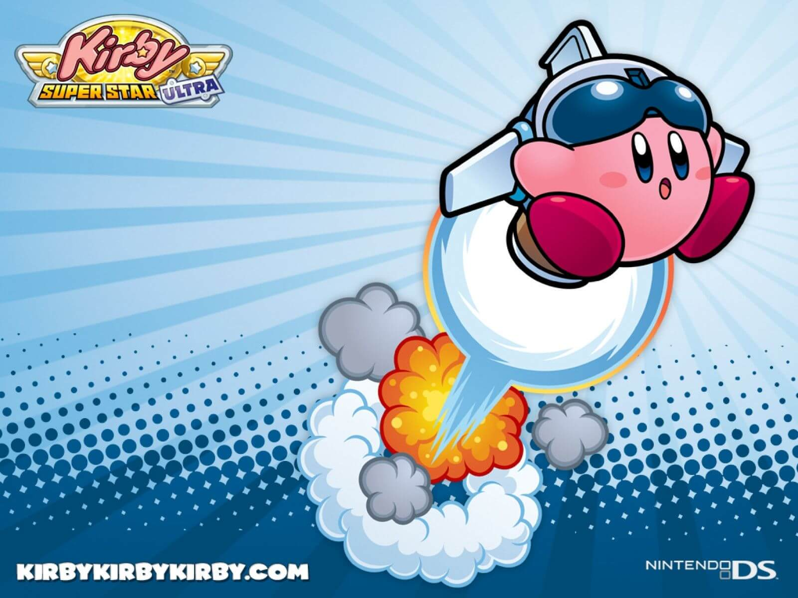 Kirby Videogame HD Background
