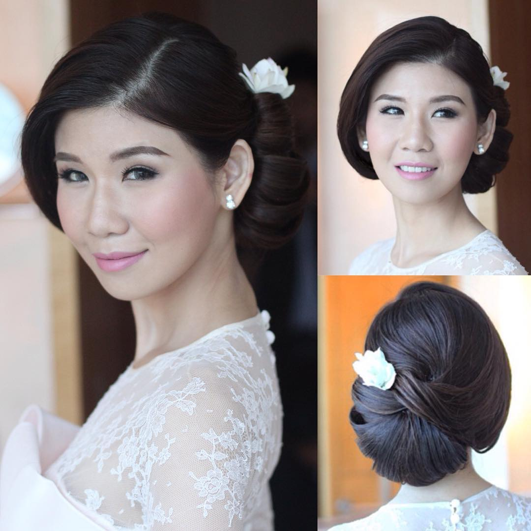 lovable bridal hairstyle idea