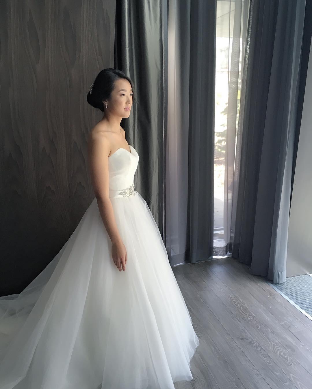 Modern Bridal Hairstyle
