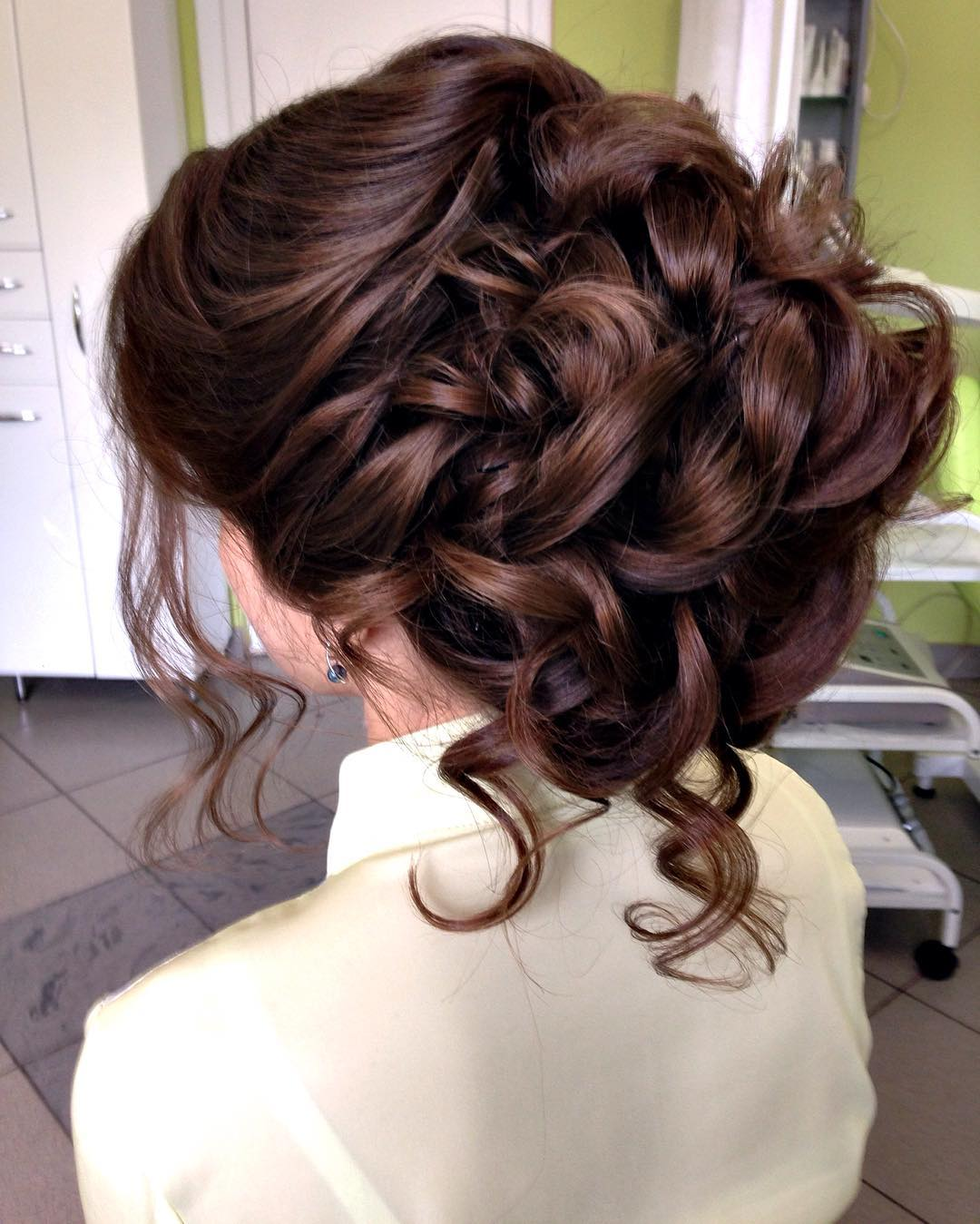 wedding stylish hair