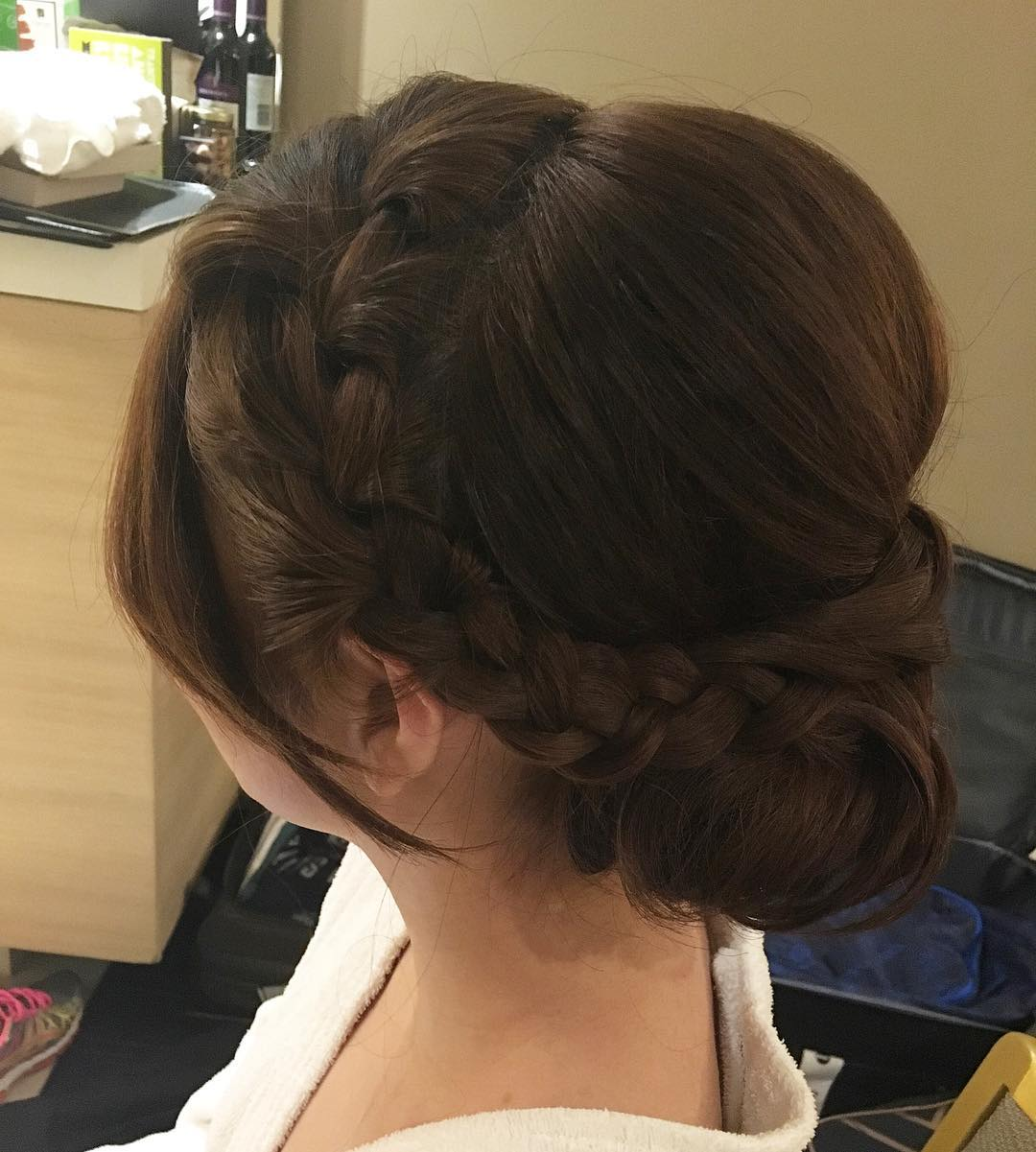 Classy Bridal Hairstyle Looks So Elegant