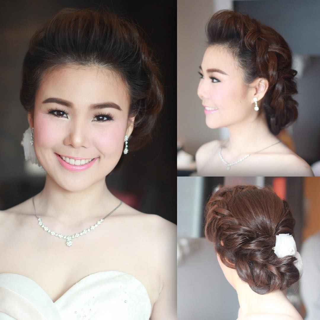 elegant hairstyle for beautiful women