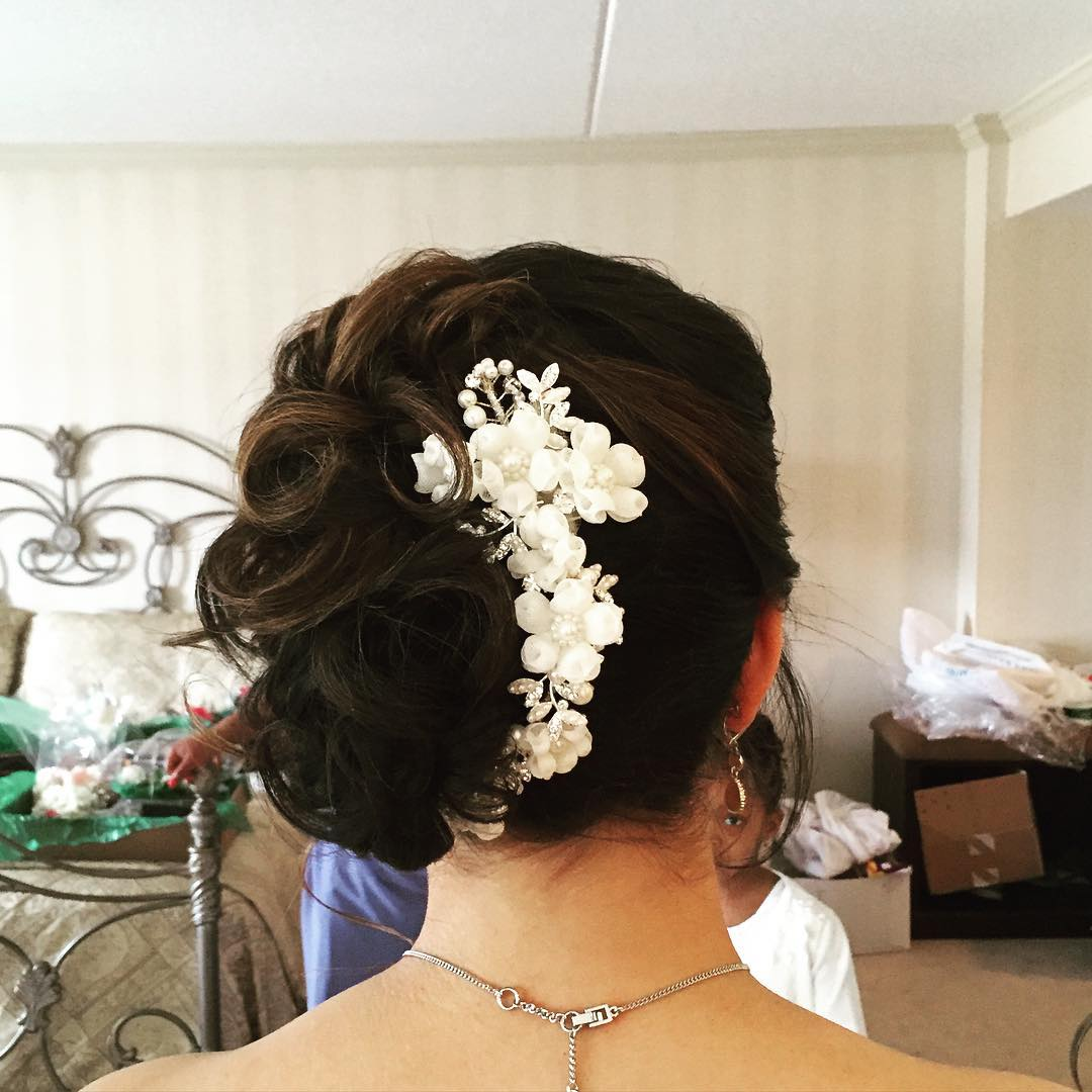 american wedding hairstyle fashion