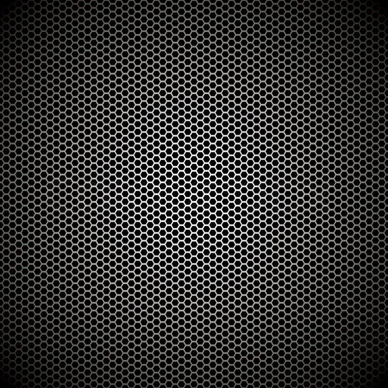 hexagonal metal bckground