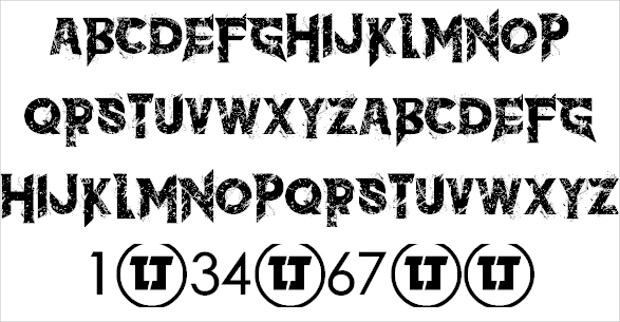 free urban font