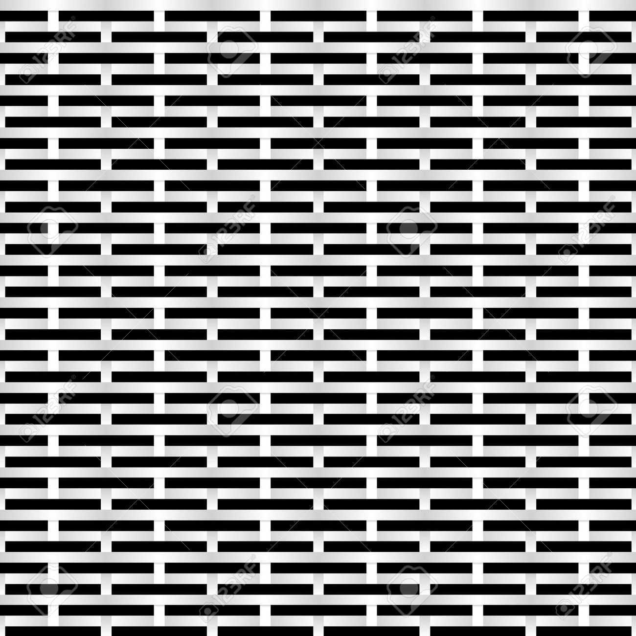 black and white grid background